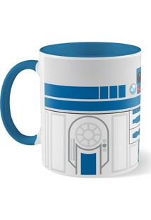 Caneca Star Wars Dróide R2 Geek10 Azul
