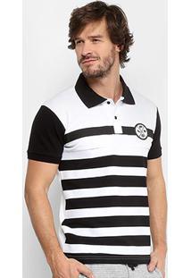 Camisa Polo Polo Rg 518 Piquet Listrada Logo Masculina - Masculino