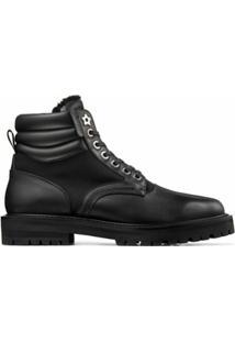 Jimmy Choo Ankle Boot Odin Clã¡Ssica - Preto