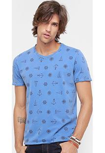 Camiseta Forum Fundo Do Mar Masculina - Masculino