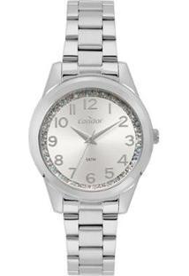 Relógio Condor Fashion Feminino - Feminino-Prata