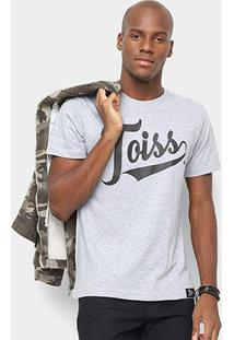 Camiseta Toiss Logo - Masculino-Mescla
