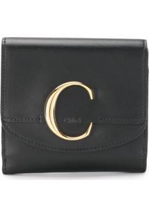 Chloé Carteira C - Preto
