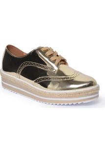 Sapato Oxford Metalizado Vizzano 1241101