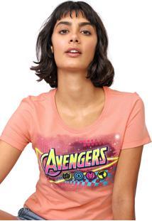Blusa Cativa Marvel Avengers Rosa