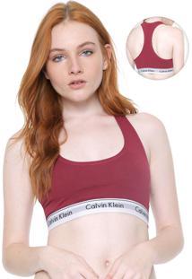 Top Calvin Klein Underwear Modern Vinho