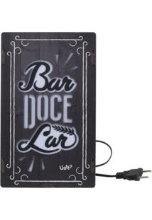 Luminária Live Uatt Bar Doce Lar Marrom
