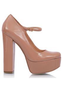 381fbd2f58 Farfetch Luiza Barcelos Sapato Bico Redondo - Preto. Ir para a loja  Luiza  Barcelos Sapato Meia Pata Envernizado - Nude