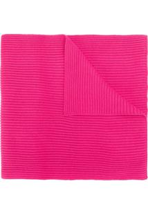 Karl Lagerfeld Cachecol K/Ikonik Com Patch - Rosa