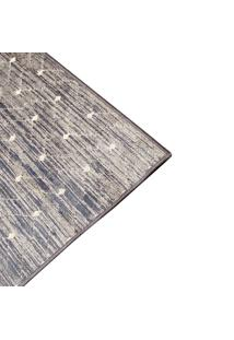 Tapete De Sala Belga Ligno Des 3 - 0,68X1,10M - Edantex - Azul - Dafiti