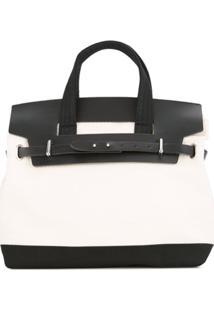 Cabas Bolsa 'Nº55' - Branco