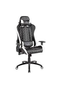 Cadeira Gamer Husky Gaming Hailstorm, Black White - Hha-Bw