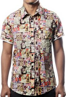 Camisa Camaleão Urbano Propaganda Bege