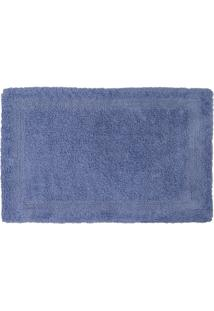 Tapete De Banheiro Lyon- Azul- 70X50Cm- Sultansultan