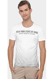 Camiseta Kohmar Flame Tinturada Nyc - Masculino