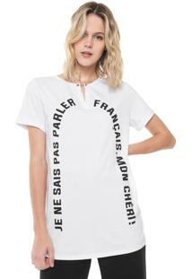 Camiseta Lez A Lez Français Branca