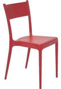 Cadeira Diana- Vermelha- 81X49X41Cm- Tramontinatramontina