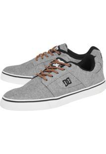 Tênis Dc Shoes Bridge Tx Se M Shoe Ggc Cinza