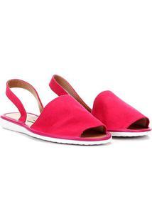 Rasteira Vizzano Avarca Lisa - Feminino-Pink