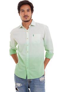 Camisa Joss Dêgrade Verde