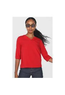 Blusa Lunender Lisa Vermelha