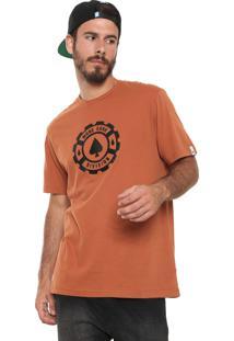 Camiseta Mcd Logo Laranja