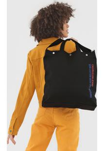 Bolsa Calvin Klein Utility Preta
