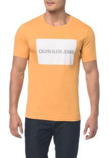 Camiseta Ckj Mc Est Logo Retangulo - Pp