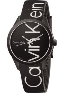 Relógio Silicone - Preto - U