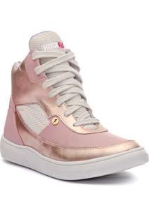 Tênis Sneaker Masculino Rockfit Lennon Rosê