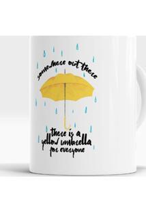 Caneca Yellow Umbrella