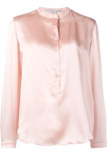 Stella Mccartney Blusa Translúcida - Rosa