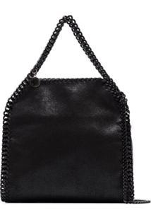 Stella Mccartney Mini Falabella Tote Bag - Preto