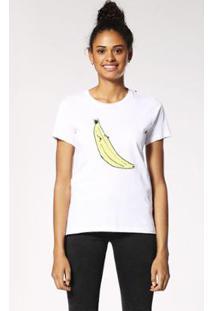 Camiseta Diesel T-Sily-B Feminina - Feminino-Branco