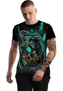 Camiseta Stompy Tattoo Rock Collection 65 Preta