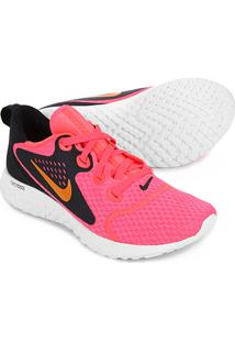 3818f6864e03b Tênis Nike Legend React Feminino - Feminino-Rosa+Preto