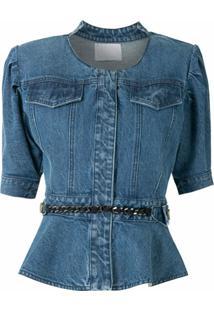 Andrea Bogosian Jaqueta Jeans Samoa - Azul