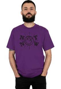Camiseta 182Life Not Now Roxo