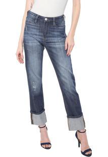 Calça Jeans Carmim Reta Empire State Basic Azul