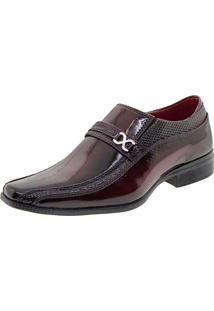 Sapato Masculino Social Vinho Parthenon - Ysr1803