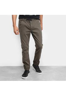 Calça Sarja Calvin Klein Color Athletic Taper Masculina - Masculino