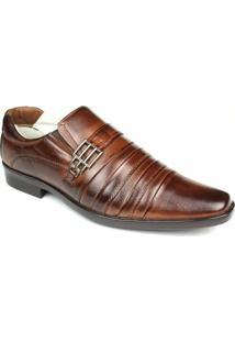 Sapato Ranster Social Max Confort - Masculino-Marrom