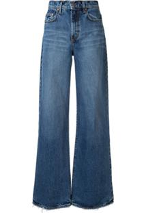 Nobody Denim Calça Jeans Pantalona Skylar - Azul