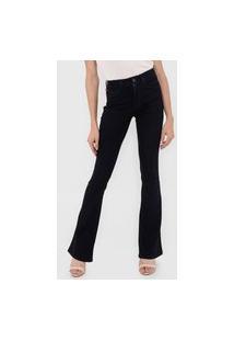 Calça Jeans Lez A Lez Flare Malibu Azul-Marinho