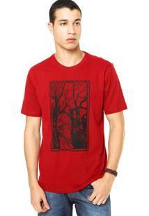 Camiseta West Coast Floresta Vermelha