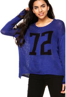 Suéter Ellus Knit Azul