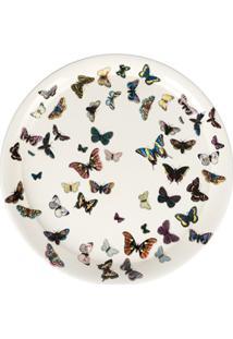 """Fornasetti Bandeja Branca Modelo """"Butterfly"""". - Branco"""