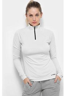Blusa Adidas Tracero Ls Feminina - Feminino