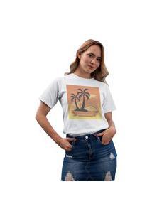 Camiseta Feminina Mirat Restore The Soul Branco