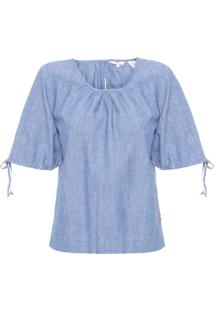 Blusa Feminina Elyse - Azul